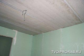 потолок в новостройке
