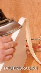 Защита торца меламиновой кромочной лентой