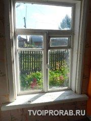 Старое деревянное окно