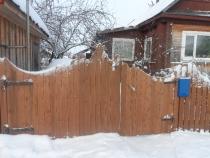 вид готовых ворот