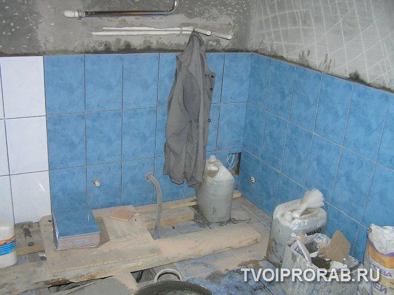 Как сделать ванную комнату в кирпичном доме своими руками 84
