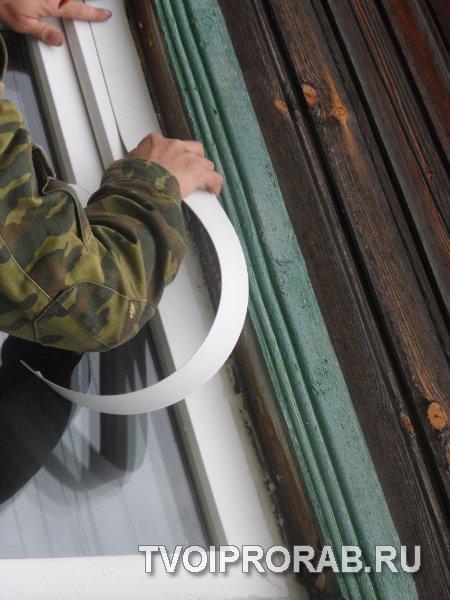 Установка нащельников на пластиковые окна своими руками 36