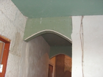 Крепление свода арки