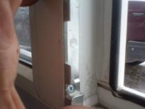 нижняя ответная планка окна ПВХ