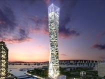 Небоскреб infinity tower
