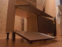 Торец мебели для прихожей