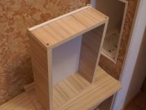 Выдвижной ящик в мебели для прихожей