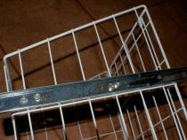 Крепление направляющей на корзину шкаф-пенала
