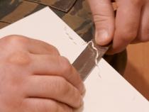 Удаление выступающих частей кромочной ленты