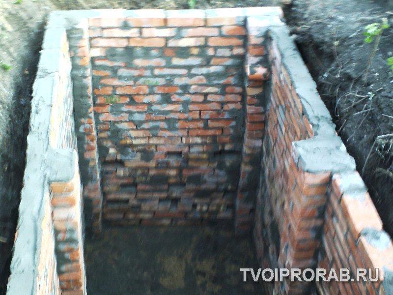 Сливная яма в частном доме своими руками