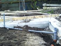 Подвод воды в дом
