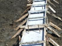 Готовый фундамент с опалубкой