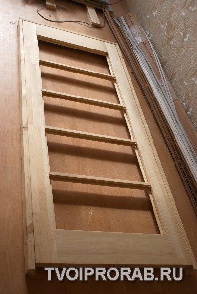 Установка межкомнатных дверей своими руками Отчет с фотографиями  сборка двери