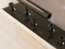 установка дверной петли
