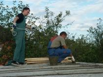 Установка плит перекрытия для частного дома своими руками