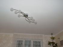 потолок после выравнивания