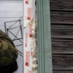 отделка пластикового окна в деревянном доме
