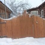 строительство деревянного забора своими руками