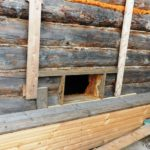 Обшивка бревенчатых стен вагонкой (инструкция и фото):