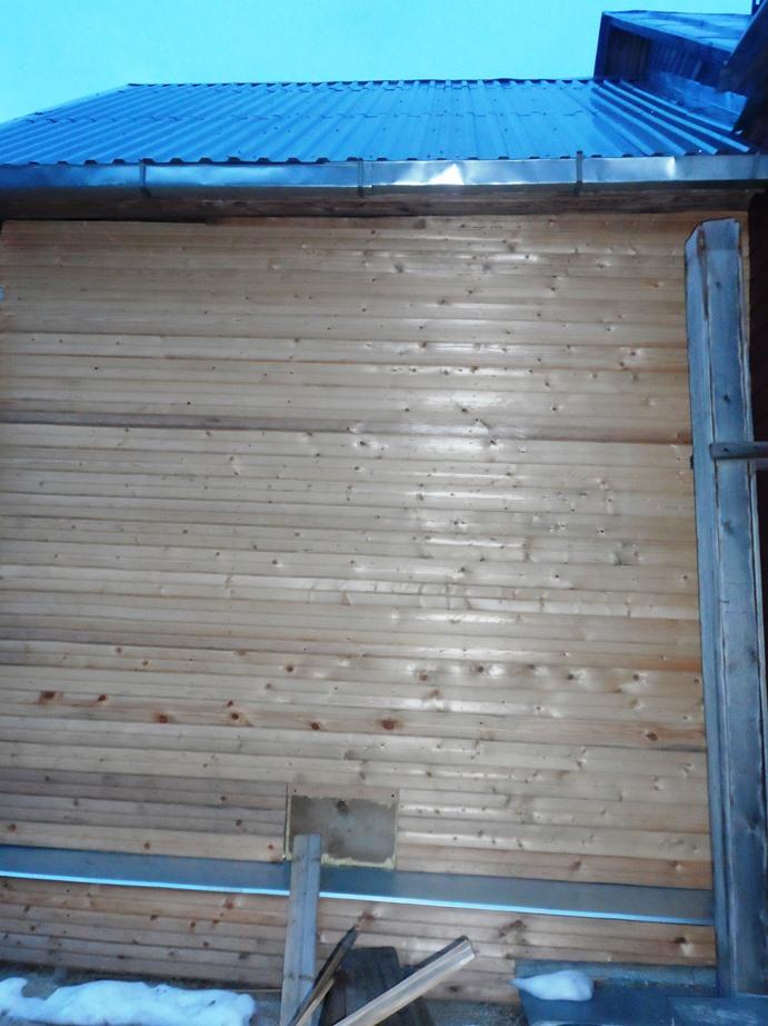 Обшивка бревенчатых стен вагонкой (инструкция и фото)