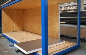 Строительные вагончики — это помещения для временного проживания или дневного отдыха людей. Такие объекты устанавливаются на дачных участках, рядом с возводящимися домами